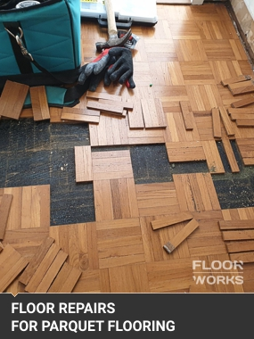 repairing of parquet blocks