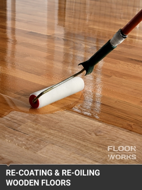 Re-Oiling & Re-Coating Wooden Floors