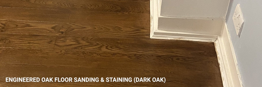 Engineered Oak Floor Sanding Dark Oak 7