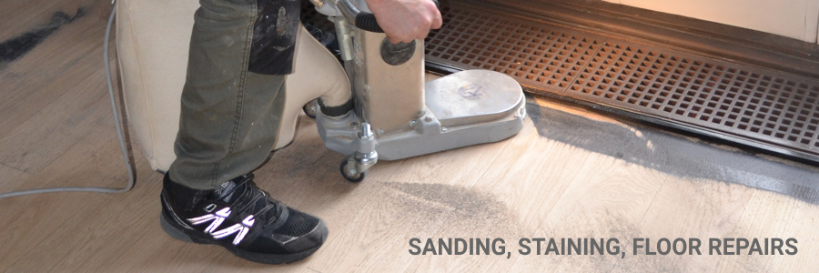 Engineered Sanding Staining Repairs