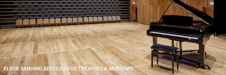 Floor Sanding For Hotels Museums Theatres