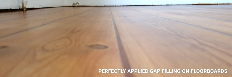 Floorboards Gap Filling Restoration