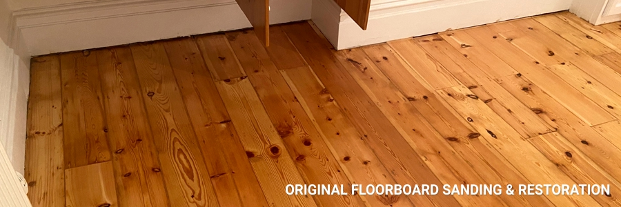 Floorboards Original Pine Restoration 2