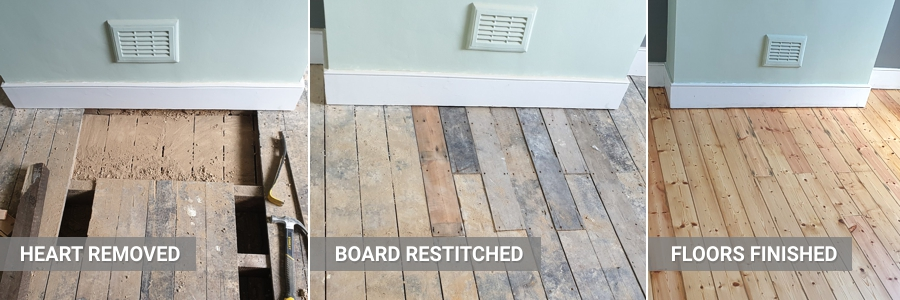 Floorboards Repairs Sanding 1