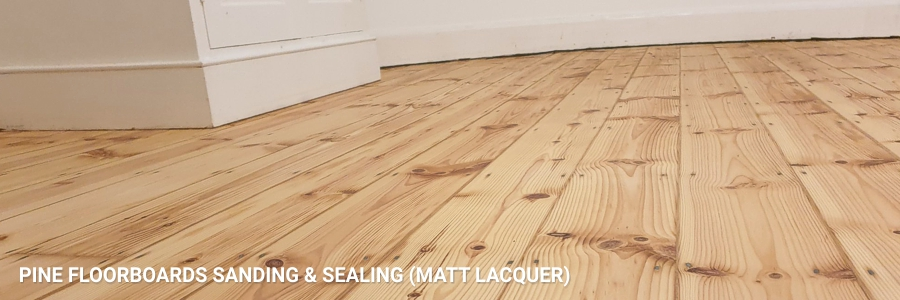 Floorboards Sanding Pine Sealing 2