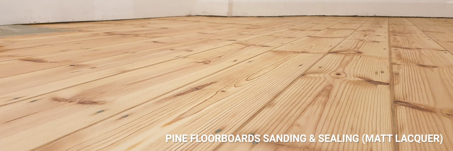 Floorboards Sanding Pine Sealing 6