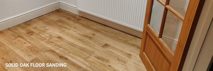 Solid Oak Floor Sanding 2
