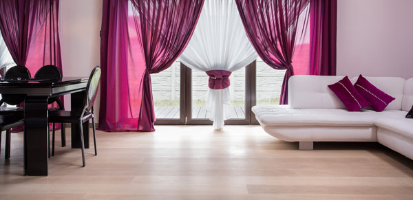 bright flooring with eye catching interior