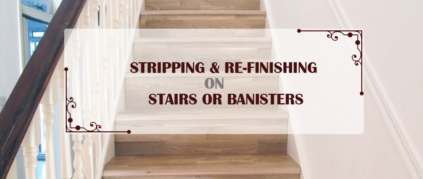 Stairs Sanding Stripping Amp Re Finishing Process