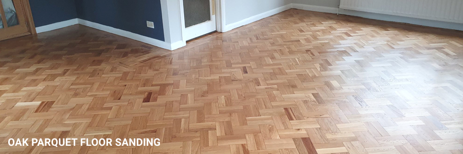 Parquet Floor Restoration in Norbury