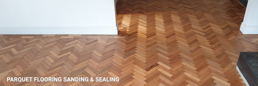 Parquet Floor Restoration in Morden