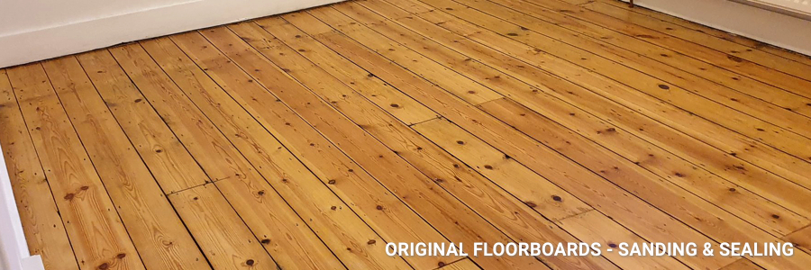 Floorboards Restoration in Dalston