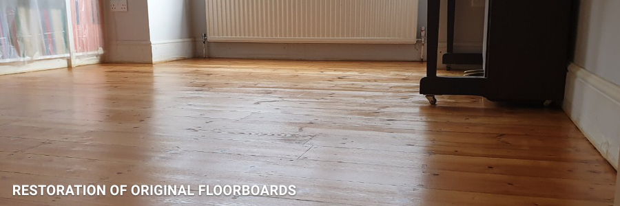 Floorboards Restoration in Beddington