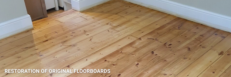 Floorboards Restoration in Abbey Wood