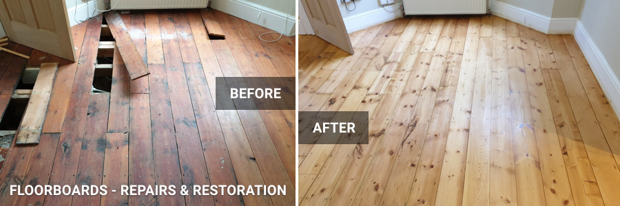 Parquet Floor Restoration in Battersea, Clapham Junction