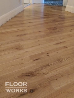 Floor renovation project in Beddington