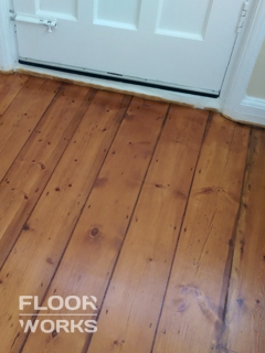Floor renovation project in Sudbury