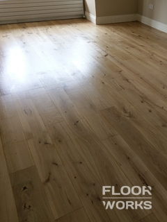 Floor renovation project in West Ham