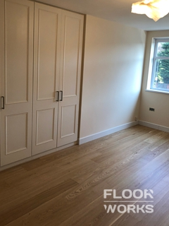 Floor renovation project in Weybridge