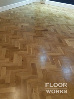 Floor renovation project in Manor Park