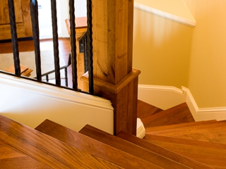 Sanding Stairs Is Quite A Slow Process Due To The Fact That Only Small  Sanding Tools Can Be Used And All Of The Work Should Be Done By Hand.