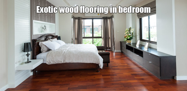 flooring from exotic wood specie