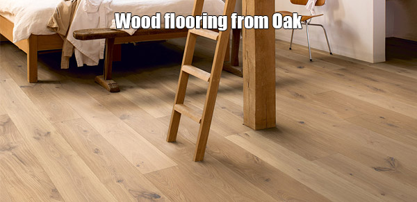 wood flooring from oak
